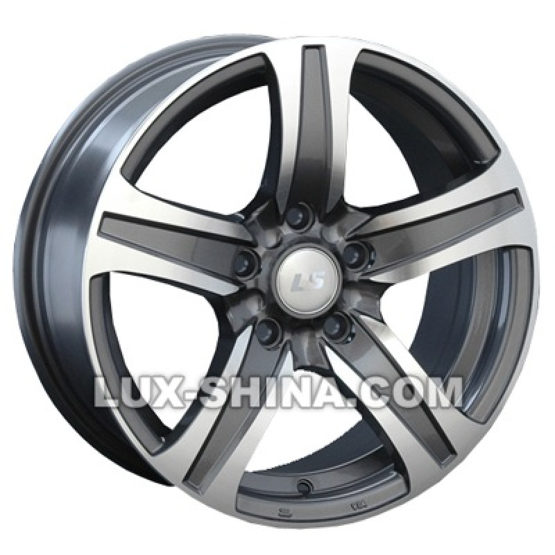 LS Wheels 145 6,5x15 4x100 ET40 DIA60,1 (GMF) в Севастополе (Крым)