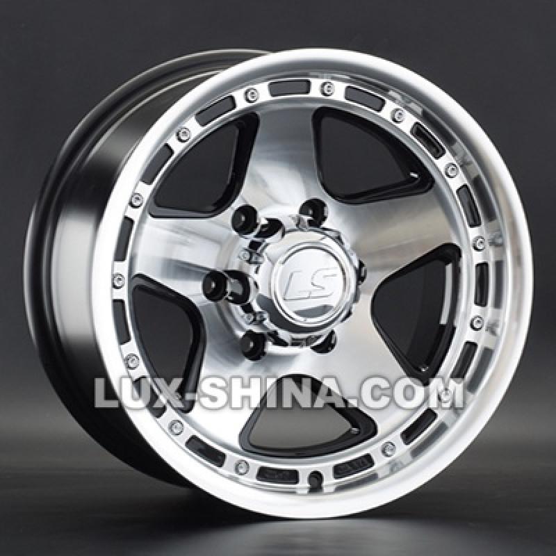 LS Wheels 870 8x15 6x139,7 ET-10 DIA106,1 (BKF) в Севастополе (Крым)