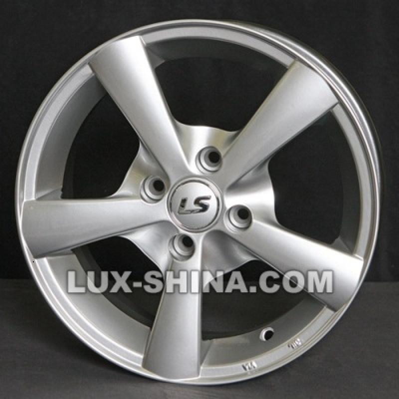 LS Wheels NG 210 7x16 5x105 ET36 DIA56,6 (silver) в Севастополе (Крым)