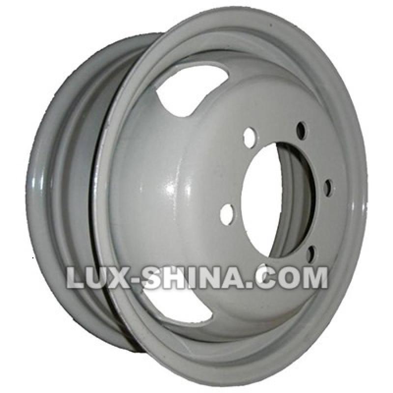 Steel Газель 5,5x16 6x170 ET105 DIA130,1 (silver) в Севастополе (Крым)